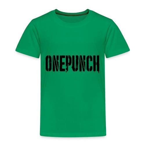 Boxing Boxing Martial Arts mma tshirt one punch - Kids' Premium T-Shirt