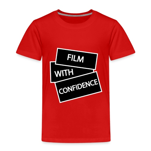 Film with Confidence - Kids' Premium T-Shirt