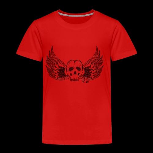 Skull 'n' Wings - Kinder Premium T-Shirt