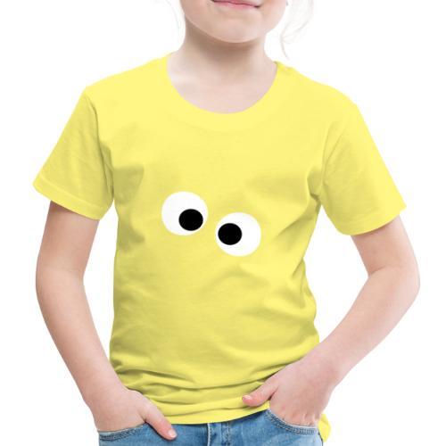 silly eyes - Kinderen Premium T-shirt