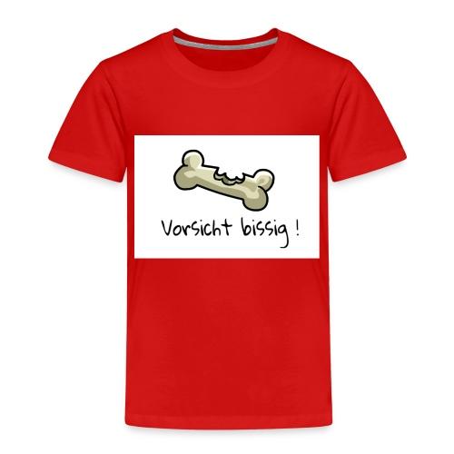 Vorsicht bissig - Kinder Premium T-Shirt