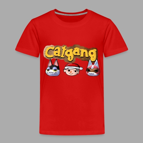 Animal Crossing CatGang - Kinder Premium T-Shirt