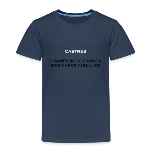design castres - T-shirt Premium Enfant