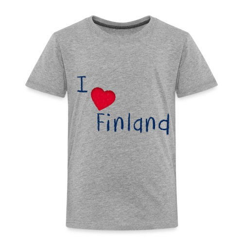 I Love Finland - Lasten premium t-paita