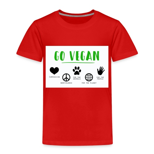Go vegan - T-shirt Premium Enfant