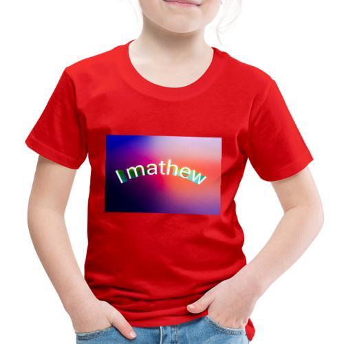 Prodotti I M4thew - Maglietta Premium per bambini