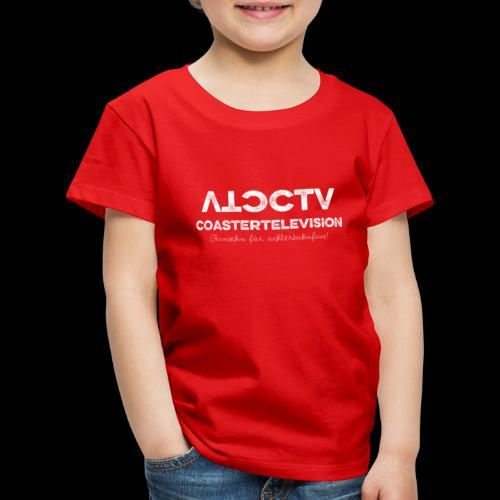 CTV Logo Wihte - Kinder Premium T-Shirt