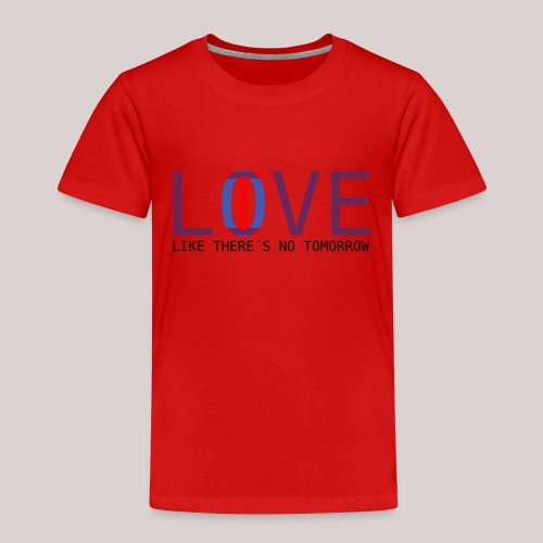 14-30 Love Live YOLO - Kinder Premium T-Shirt