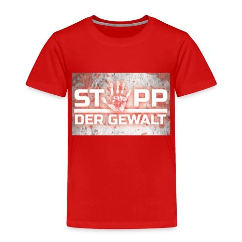 STOPP DER GEWALT - Kids' Premium T-Shirt
