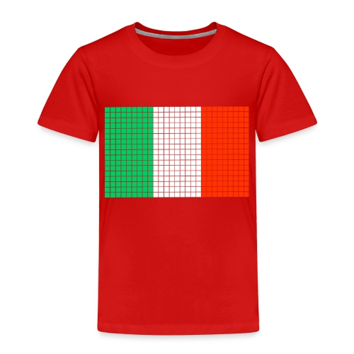 italian flag - Maglietta Premium per bambini