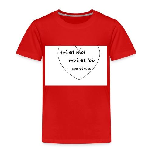 Moi - T-shirt Premium Enfant
