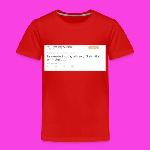 Ieuan Tweet - Kids' Premium T-Shirt