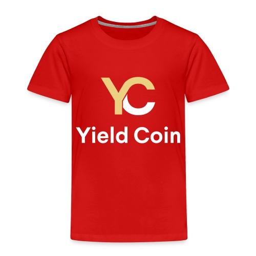 Gold and White Combination - Kids' Premium T-Shirt