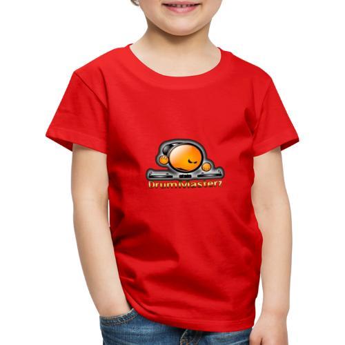 DrumMasterz Logo - Kinder Premium T-Shirt