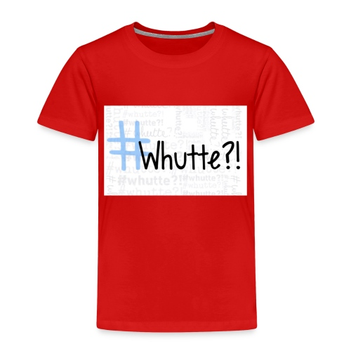 #whutte merchandise - Kinderen Premium T-shirt