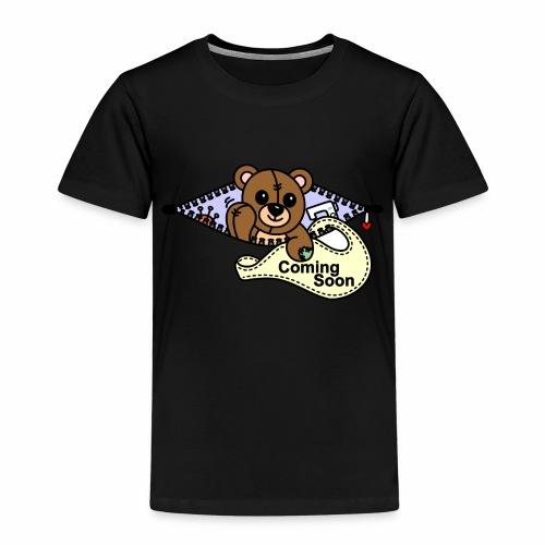 Bärchen Nähmaschine Coming Soon - Kinder Premium T-Shirt