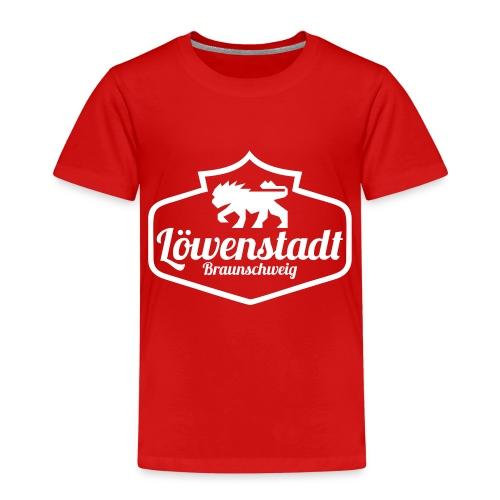 Löwenstadt Design 1 weiss - Kinder Premium T-Shirt