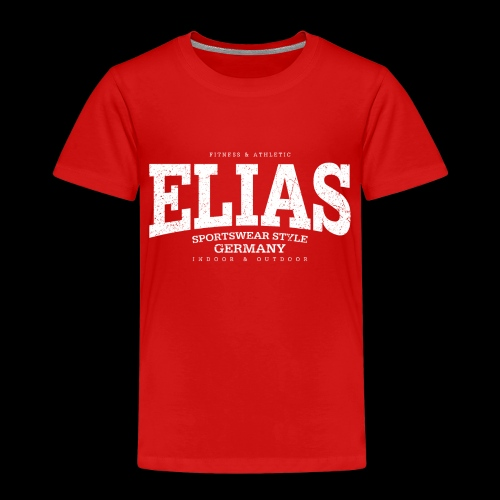 Elias (white oldstyle) - Kinder Premium T-Shirt