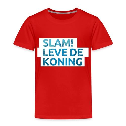 Slam leve de koning! - Kinderen Premium T-shirt