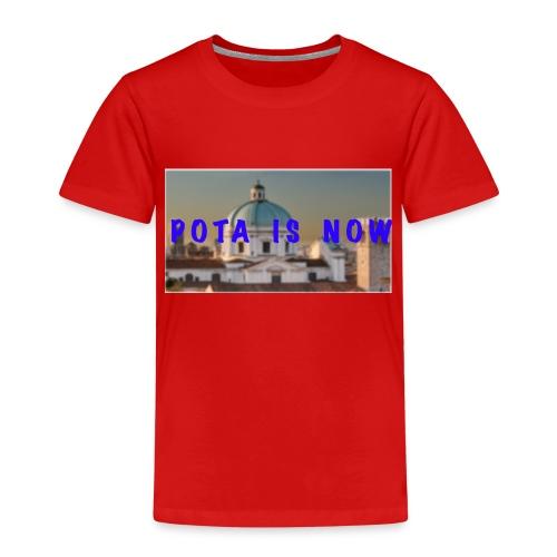 POTA IS NOW - Maglietta Premium per bambini