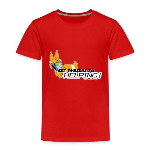 Set Phasers to Helping - Kids' Premium T-Shirt