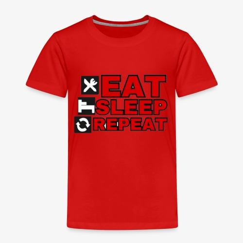 EAT SLEEP REPEAT T-SHIRT GOOD QUALITY. - Kids' Premium T-Shirt