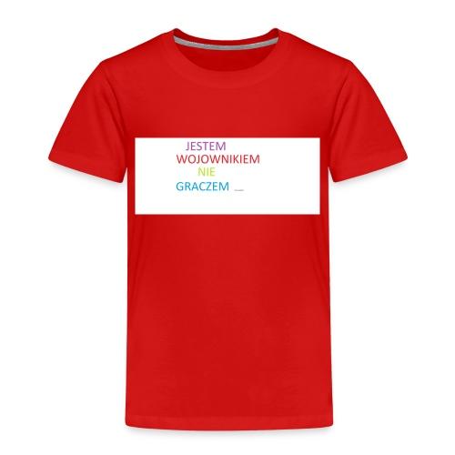 kim jesteś - Koszulka dziecięca Premium