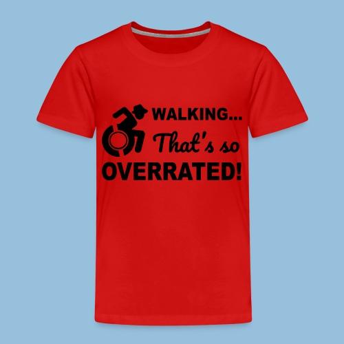 Walkingoverrated2 - Kinderen Premium T-shirt