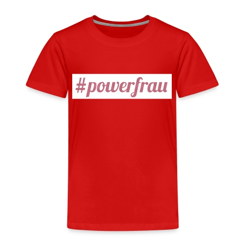 #powerfrau - Kinder Premium T-Shirt