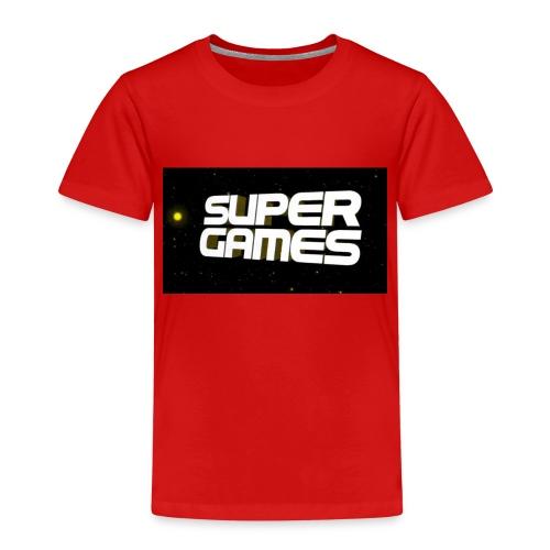 #SuperGames - Kinder Premium T-Shirt