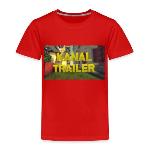 Das T-Shirt fpnder Kanal eröffnung nur für korze - Kinder Premium T-Shirt