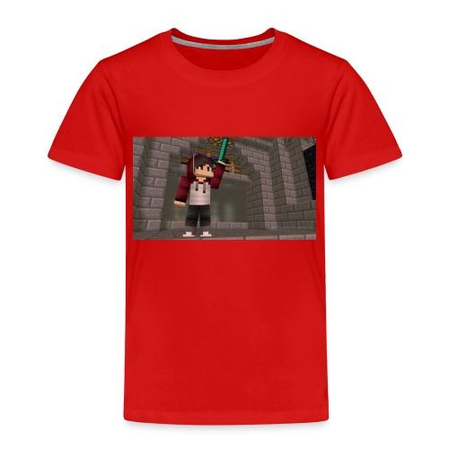 Et bilde av Meg På Miecraft - Premium T-skjorte for barn