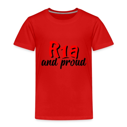 R1a and proud - Maglietta Premium per bambini