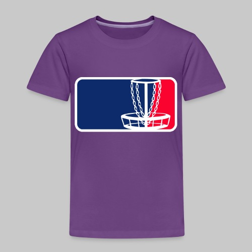 Disc golf - Lasten premium t-paita