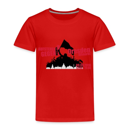 Dresden Demo rot - Kinder Premium T-Shirt