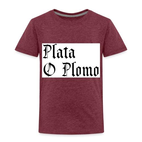 Plata o plomo - T-shirt Premium Enfant