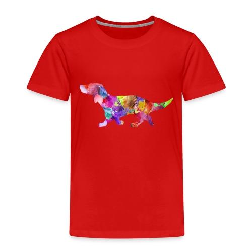 Bunter Hund - Kinder Premium T-Shirt