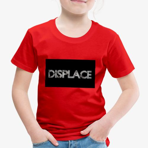 Displace Cracked Black - Kinder Premium T-Shirt