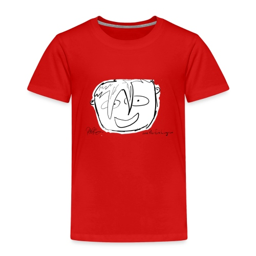 The Face Zoomed | Peter Eric Lang - Kids' Premium T-Shirt