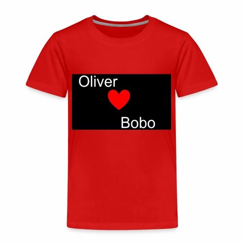 Oliver love Bobo - Premium-T-shirt barn
