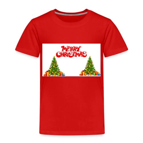 Merrry Christmas (Jule Logo!) - Premium T-skjorte for barn