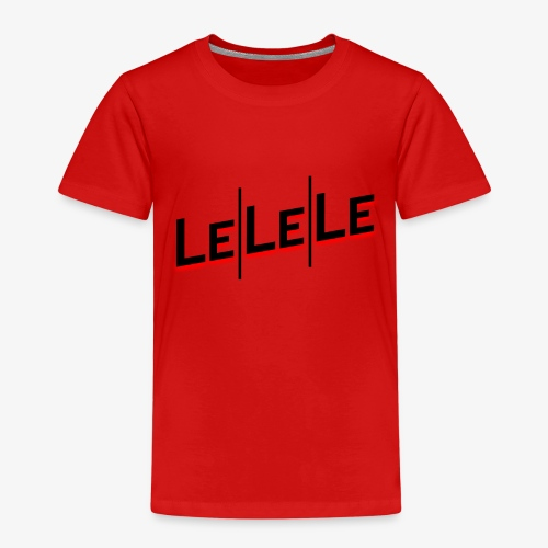 LeLeLe black/red vert - Kinder Premium T-Shirt