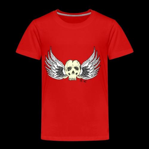 Skull 'n' Wings Color - Kinder Premium T-Shirt