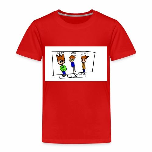 ZacsWorld - Kids' Premium T-Shirt