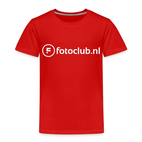 Logo Wit Fotoclublnl - Kinderen Premium T-shirt