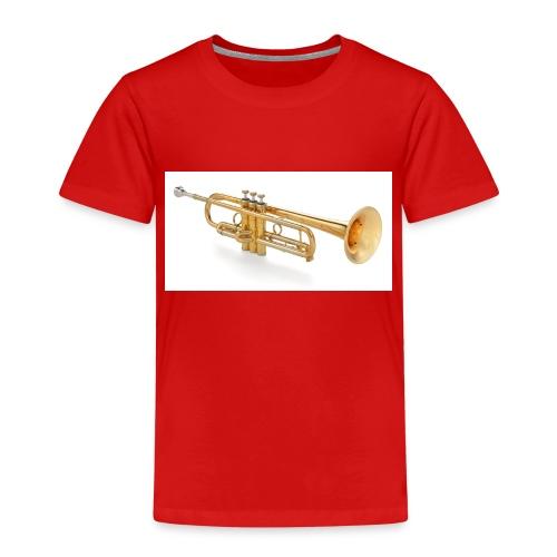 the trumpet - Kinder Premium T-Shirt