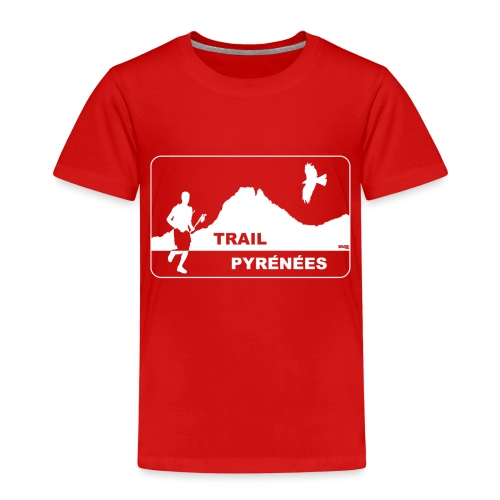 Trail Pyrénées V4 - T-shirt Premium Enfant