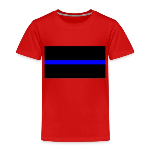 Thin Blue Line - Premium-T-shirt barn