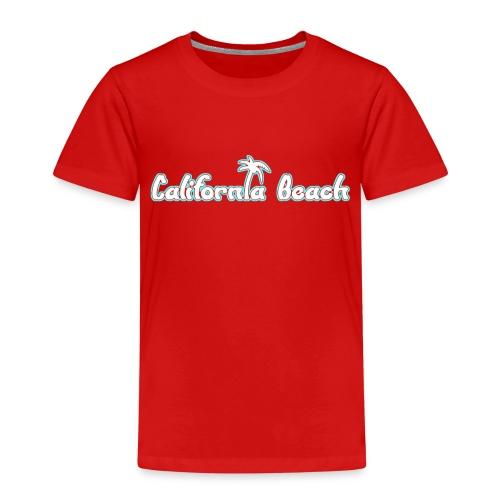 California Beach - Premium-T-shirt barn