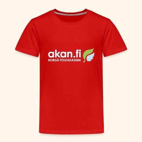 Akan White - Premium-T-shirt barn